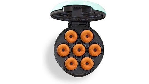This Dash doughnut maker has rave reviews from buyers.