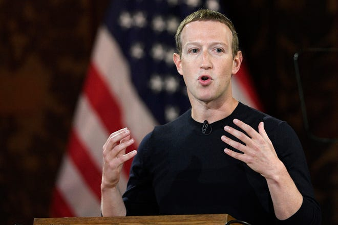 Facebook CEO Mark Zuckerberg speaks at Georgetown University in Washington in October 2019. Ever since Russian agents and other opportunists abused its platform in an attempt to manipulate the 2016 U.S. presidential election, Facebook has insisted, repeatedly, that it's learned its lesson and is no longer a conduit for misinformation, voter suppression and election disruption.