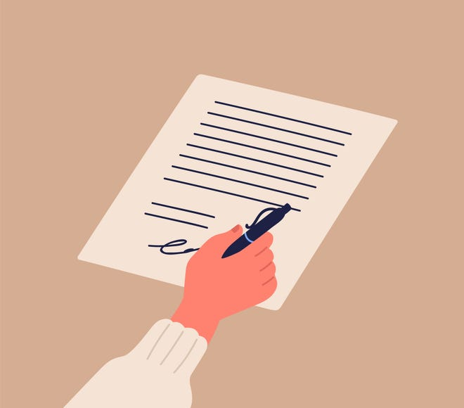 Some places allow homebuyers to have documents for a home purchase signed and notarized online.