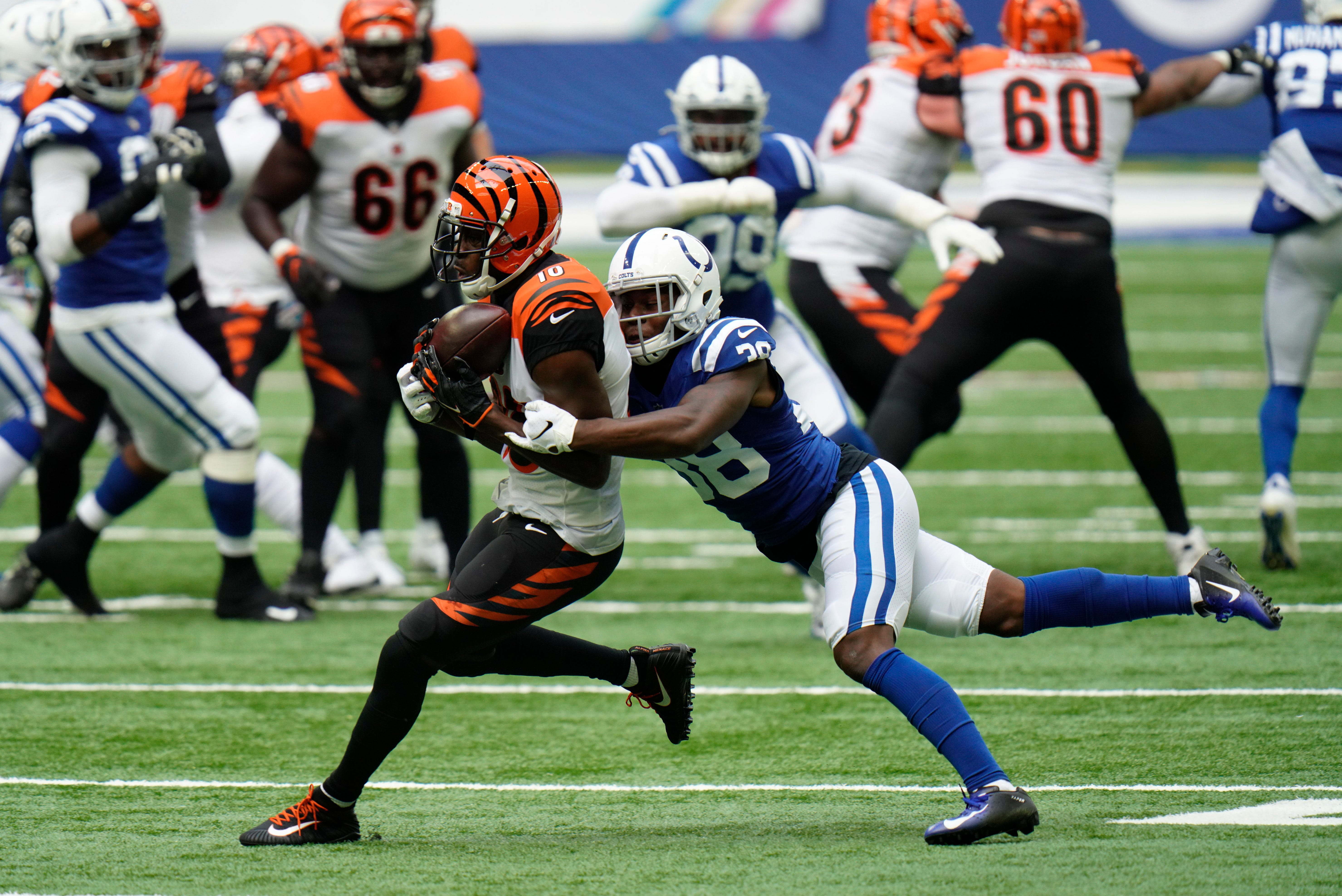 'I feel like the old A.J.': After quiet start, Bengals WR A.J. Green finds his form