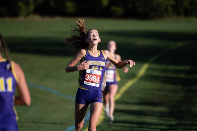 Lexington's Elyana Weaver comes in as the top-ranked Richland County runner for Lady Lex.
