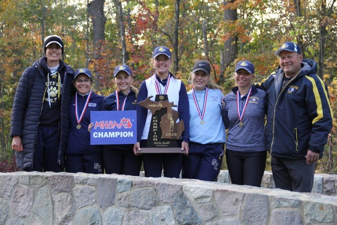 South Lyon girls golf captures the program's first-ever state title after 12-consecutive  state final appearances.