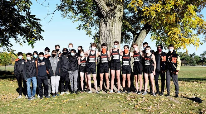 Northville boys cross country finishes second in the KLAA championship race Saturday.