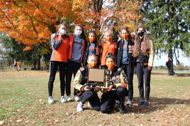 The Northville girls cross country team won its 10th KLAA title Saturday afternoon.