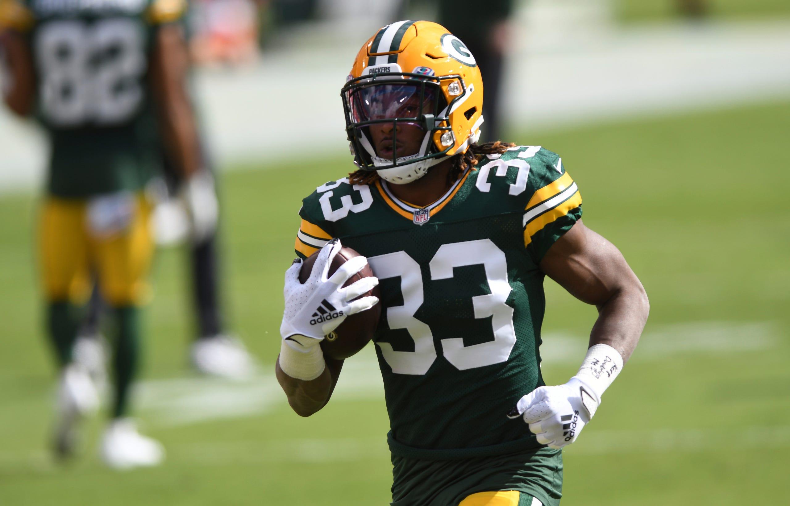 Aaron Jones A Look At Green Bay Packers Running Back S 2020 Season
