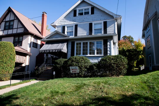 Democratic presidential nominee Joe Biden lived in this Scranton home for the first ten years of his life before his family moved to Delaware.