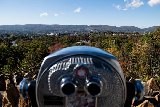 The view of Scranton from a scenic overlook on Route 307 on Wednesday, October 14, 2020. The city is home to an estimated 76,653 residents and is the county seat of Lackawanna County in northeastern Pennsylvania's Wyoming Valley.