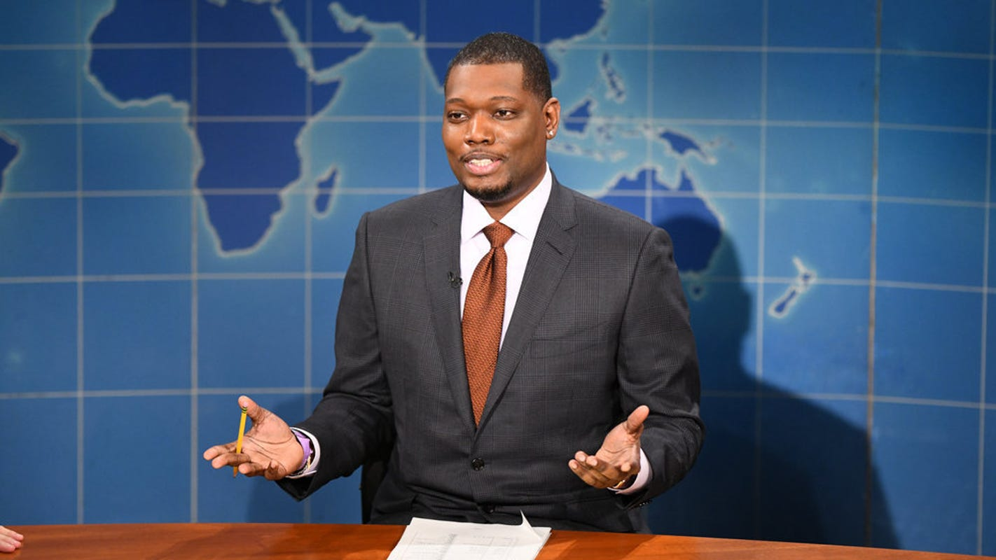 'SNL' 'Weekend Update' co-anchor Michael Che jokes NBC has 'a type': Bill Cosby Matt Lauer Donald Trump – USA TODAY