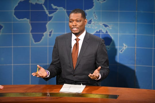 """""""Weekend Update"""" co-anchor Michael Che"""