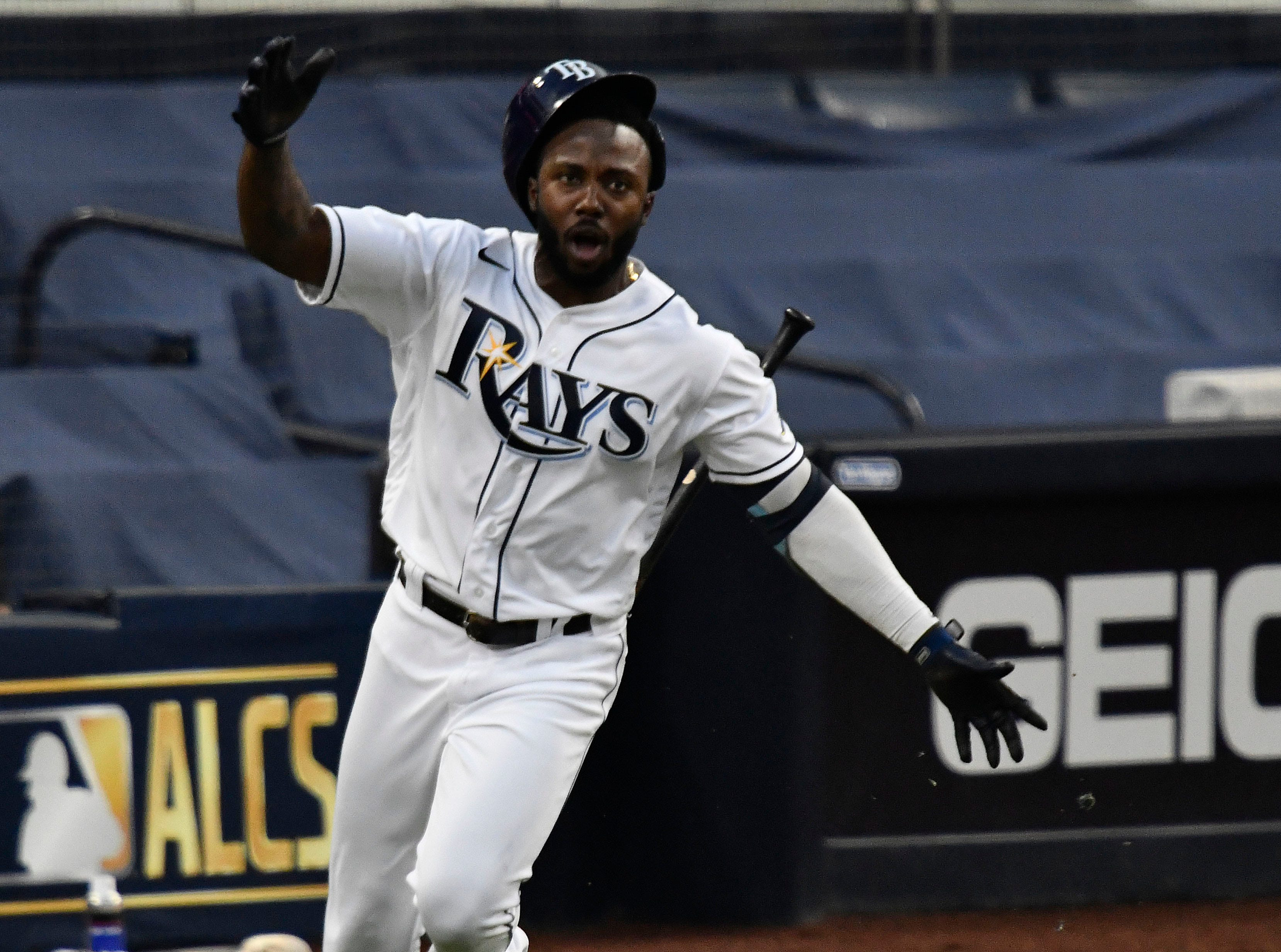 With four ALCS homers, Rays outfielder Randy Arozarena named series MVP
