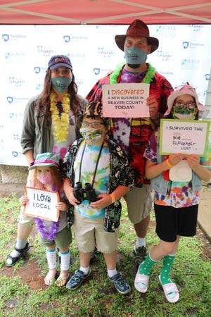 Families enjoyed the first Beaver County-wide, driveable scavenger hunt, which returns Saturday for a fall edition.