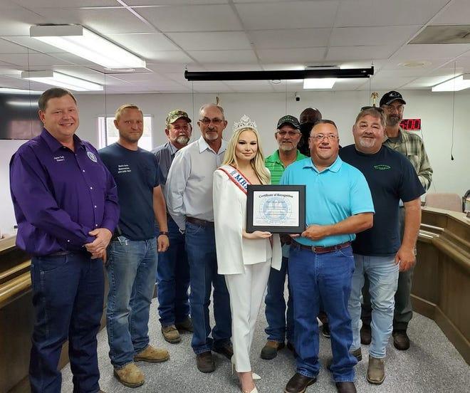 The Vernon Parish Police Jury congratulates Mrs. Alyx Jarrell on being crowned Mrs. Louisiana America 2020.