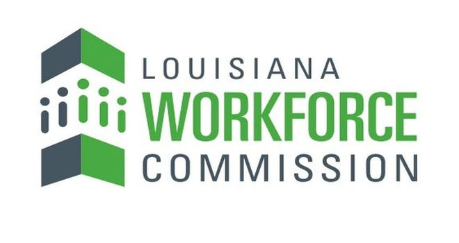 News release from the Louisiana Workforce Commission