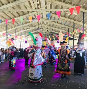 The Latin Heritage Festival was held Sunday in Ridgeland at the Jasper County Farmers Market. Many groups in colorful attire performed for the audience.