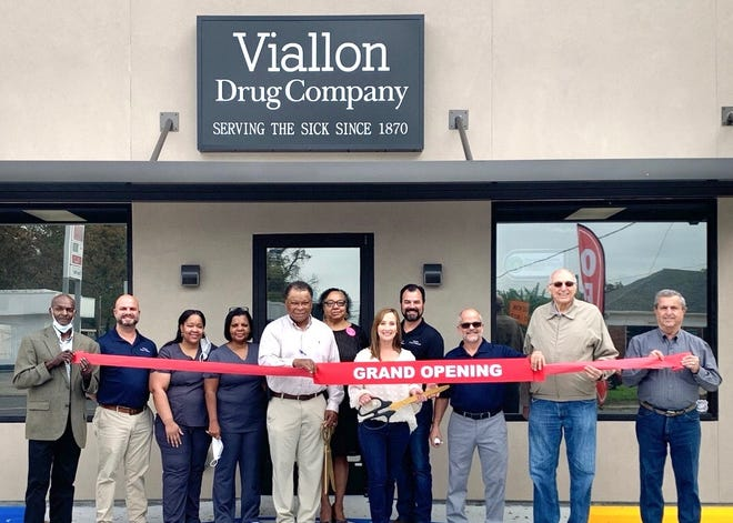 Viallon's Drug Company held its grand opening Oct. 16 at 309 Marchand Dr. in Donaldsonville.