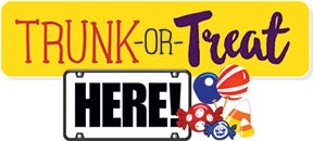 A Trunk or Treat event is set for Oct. 25.