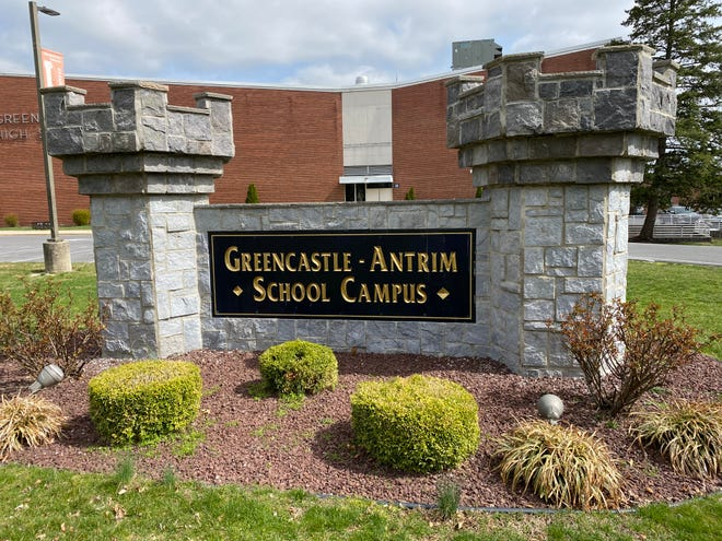 The Greencastle-Antrim School District reported its first case of COVID-19 on Sunday.