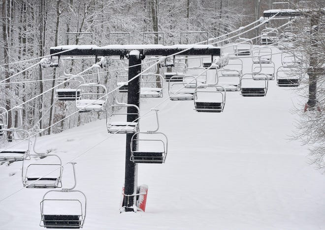 New York state said its ski resorts including Peek'n Peak Resort in Findley Lake can operate at 50% capacity as soon as Nov. 6. CHRISTOPHER MILLETTE FILE PHOTO/ERIE TIMES-NEWS