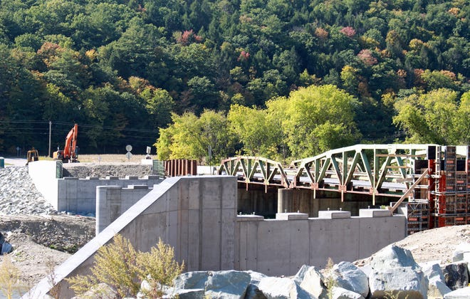 Reader Janie Ferguson shared this late-September photo depicting the progress on the County Road 119 bridge over the Canisteo River in the Town of Cameron, which will be closed to all traffic beginning Monday (Oct. 26) through Oct. 30.