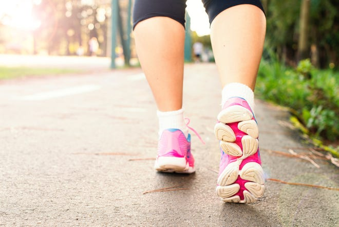 A local doctor said that 8,000-10,000 steps a day can help lead to a healthier lifestyle.