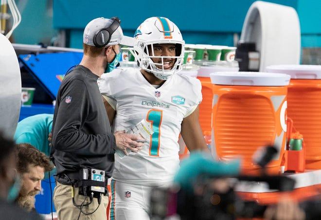 Quarterback Tua Tagovailoa prepares to make his NFL debut vs. the Jets.
