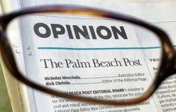 Palm Beach Post Opinion graphic