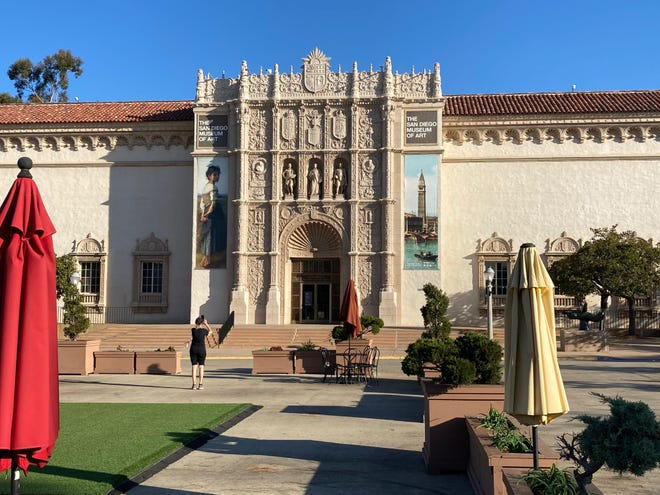 The San Diego Museum of Art in Balboa Park.