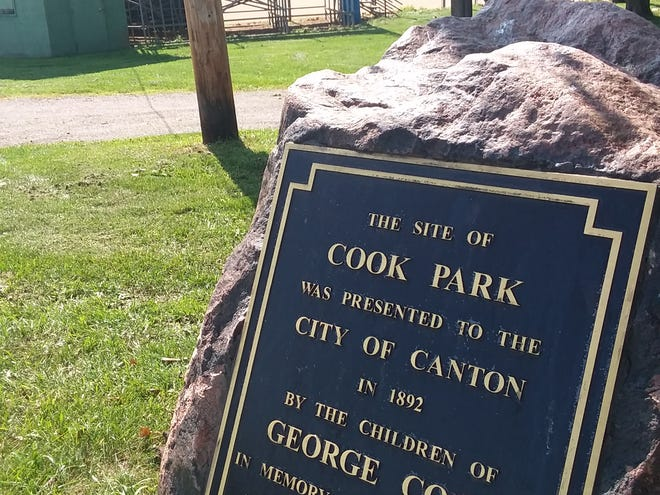 Cook Park is one of three parks in the Crystal Park area of Canton. [Charita M. Goshay/Canton Respository]