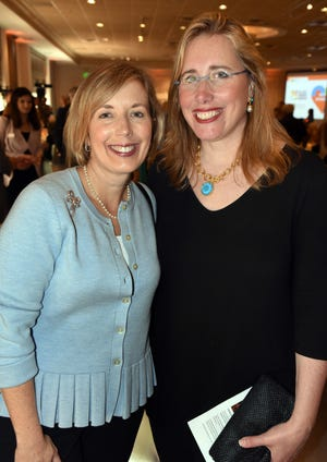 Wendy Deming, left, chief operating officer of Selby Gardens, has signed a new 10-year contract with the organization. Jennifer O. Rominiecki signed a 10-year contract to continue as president and CEO in 2018.