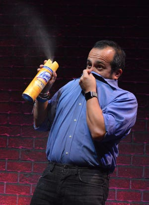 Will Luera, director of improvisation at Florida Studio Theatre, has been developing new ways of safely keeping audiences laughing.