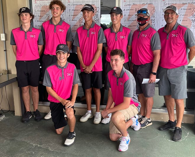 The Port Charlotte High boys golf team finished 16th out of 16 teams at the Class 2A state championships.