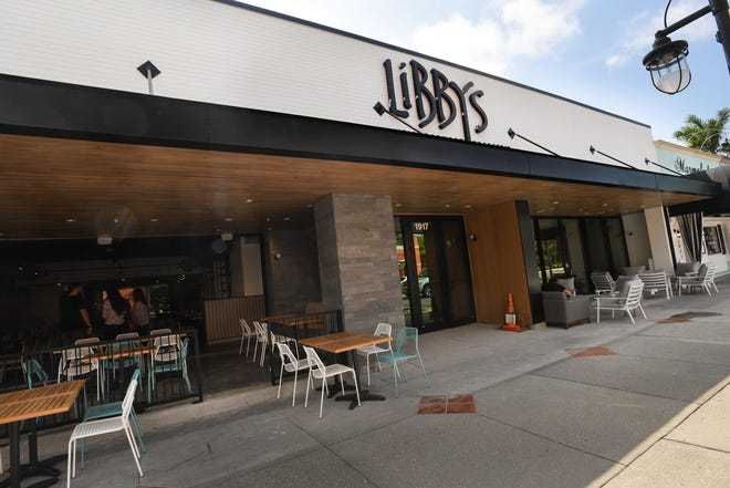 Libby's Neighborhood Brasserie has locations in Sarasota's Southside Village (pictured) as well as Lakewood Ranch.