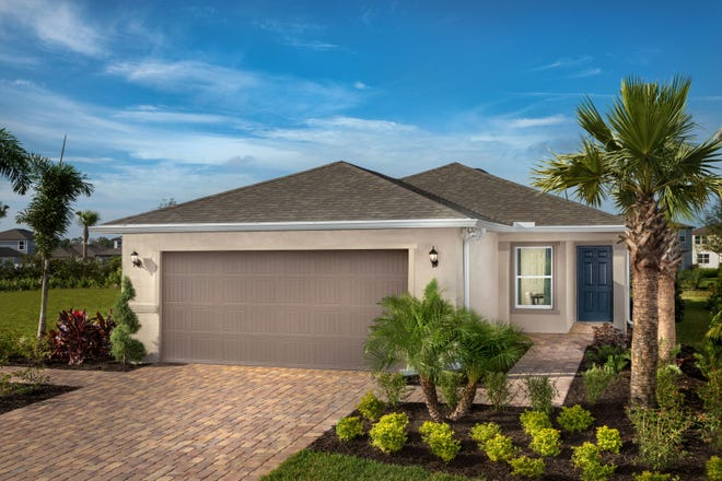 KB Home has opened two model homes in Brightwood, in North River Ranch, Parrish.