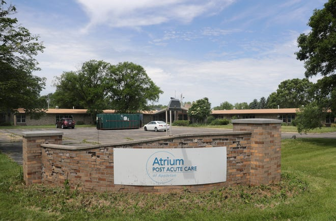 The former Atrium Post Acute Care of Appleton will be remade into an apartment building.