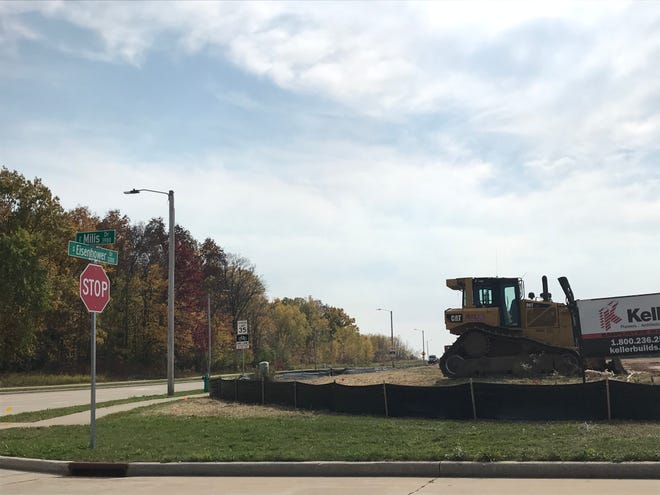 F Street Development's site is bound by Millis Drive, Eisenhower Drive and Midway Road on Appleton's east side.
