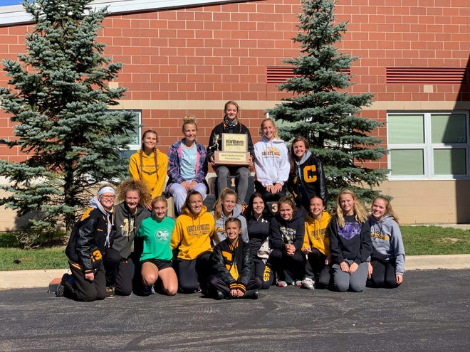 The Lady Eagles won their first ever Northern 10 cross country championship on Saturday.