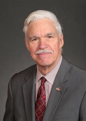 Representative Stan Gustafson, a Republican, is running for a new term for Iowa House District 25