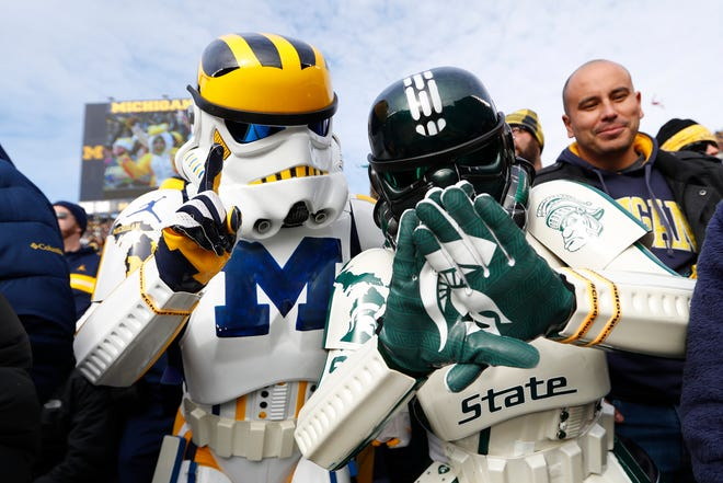 Michigan vs. Michigan State is a Halloween matchup this year in Ann Arbor.