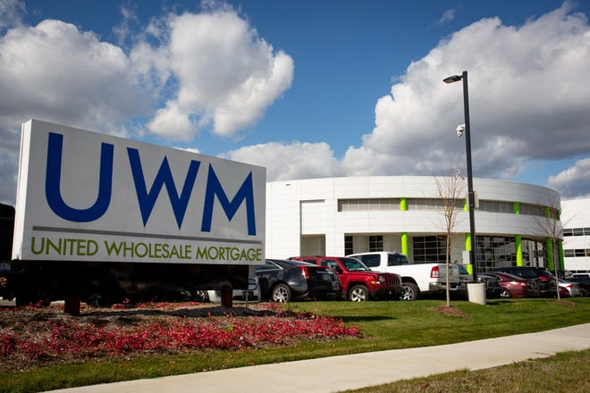 United Wholesale Mortgage is based in Pontiac.