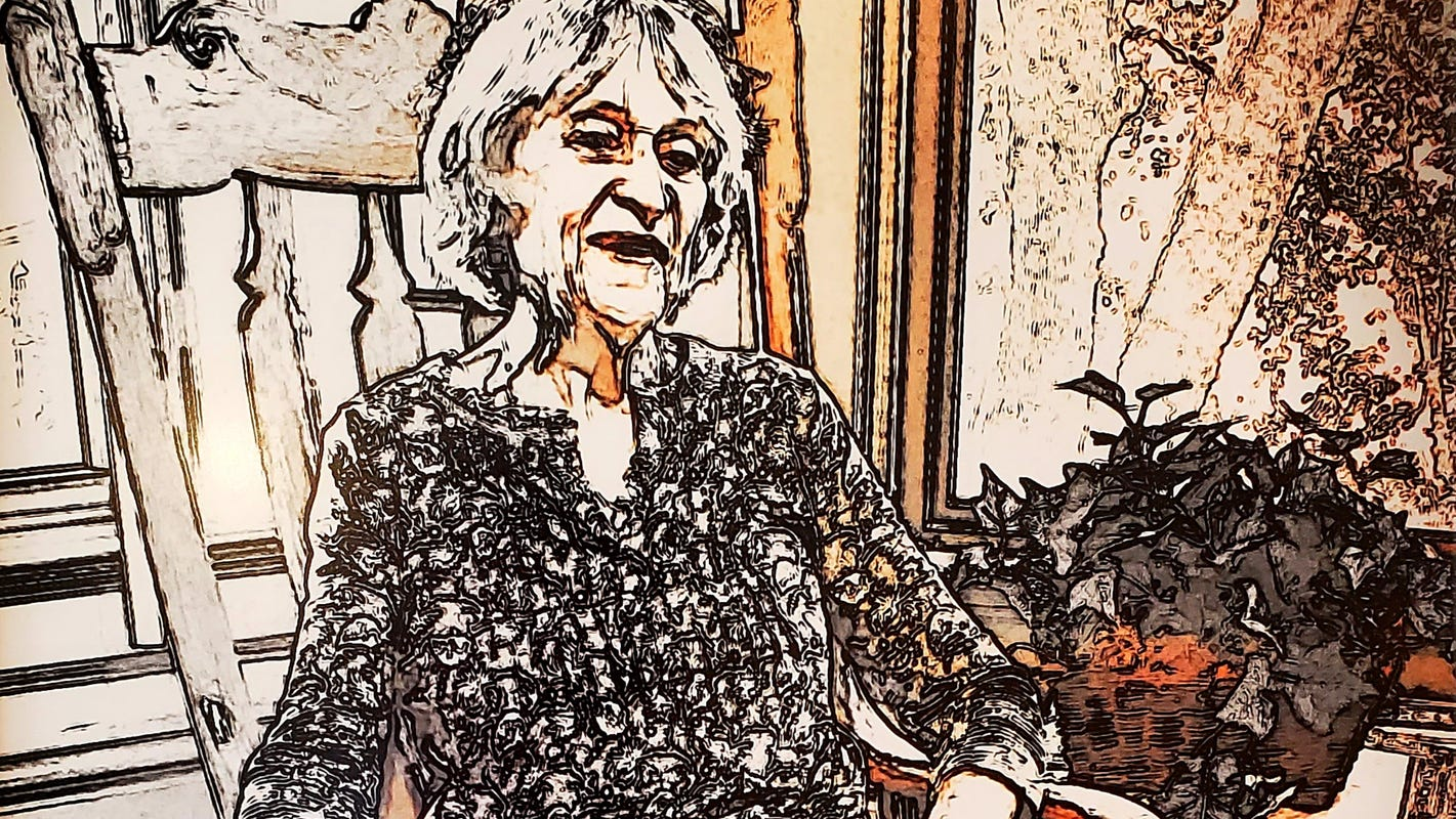 Manitowoc artists capture spirit of Dolly Stokes in Spittin' Image portrait challenge