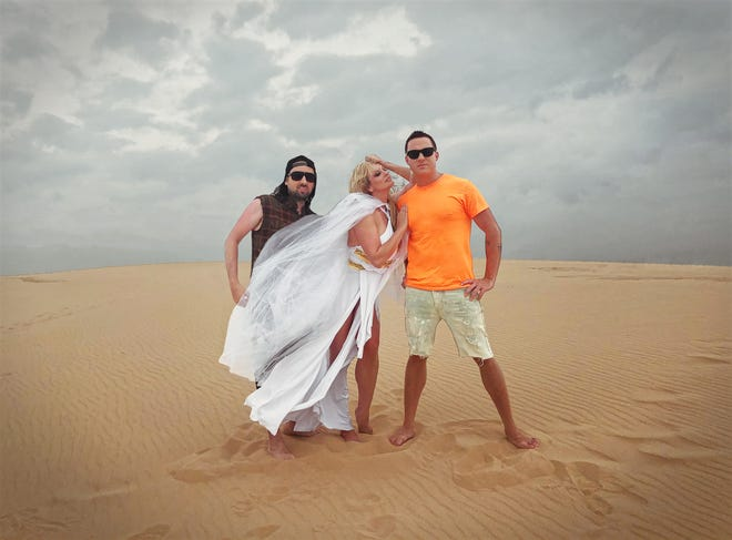 """Stormy Daniels directed and appears in the latest music video for Milwaukee band TENLo, for the rock duo's new single """"Sunlight."""" It was filmed across four days in August at Silver Lake Sand Dunes in Hart, Mich."""