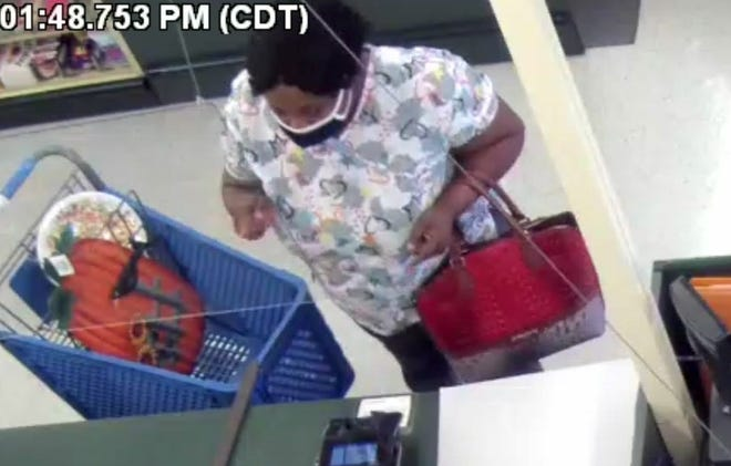 Prattville police are looking for this woman in a counterfeit money case