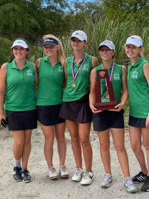 The Fort Myers High School girls golf team won the Class 2A-Region 3 tournament at Bardmoor Golf & Tennis Club in Seminole on Monday, Oct. 19, 2020.