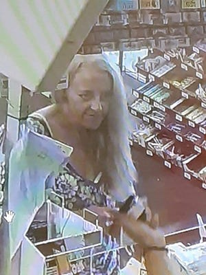 Licking County Crime Stopppers is offering a reward for information in a Newark wallet theft from May.