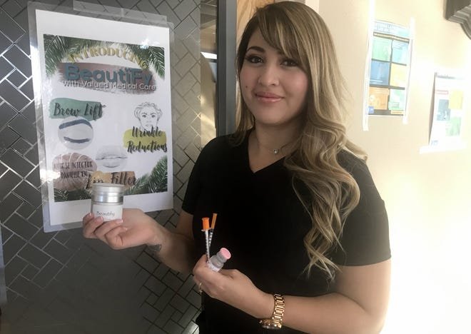 Certified Nurse Injector Danielle Regalado is accepting appointments for Botox and fillers at Valued Family Medical Care Clinic, 721 E. Holly St.