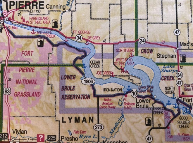 The Lower Brule Indian Reservation is located in a scenic but remote region of central South Dakota, with the main city of Lower Brule located about 60 miles southeast of Pierre.