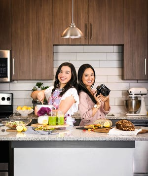 Quarantine Quisine was created by 2020 University of Florida graduates Grace Ubben and Isabel Sanchez. The pair individually created and tested recipes. Then, Ubben wrote and designed the cookbook, illustrated with stunning photography by Sanchez, right.