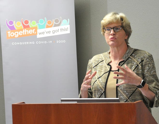 Phyllis Cowling, President and CEO of United Regional Health Care System