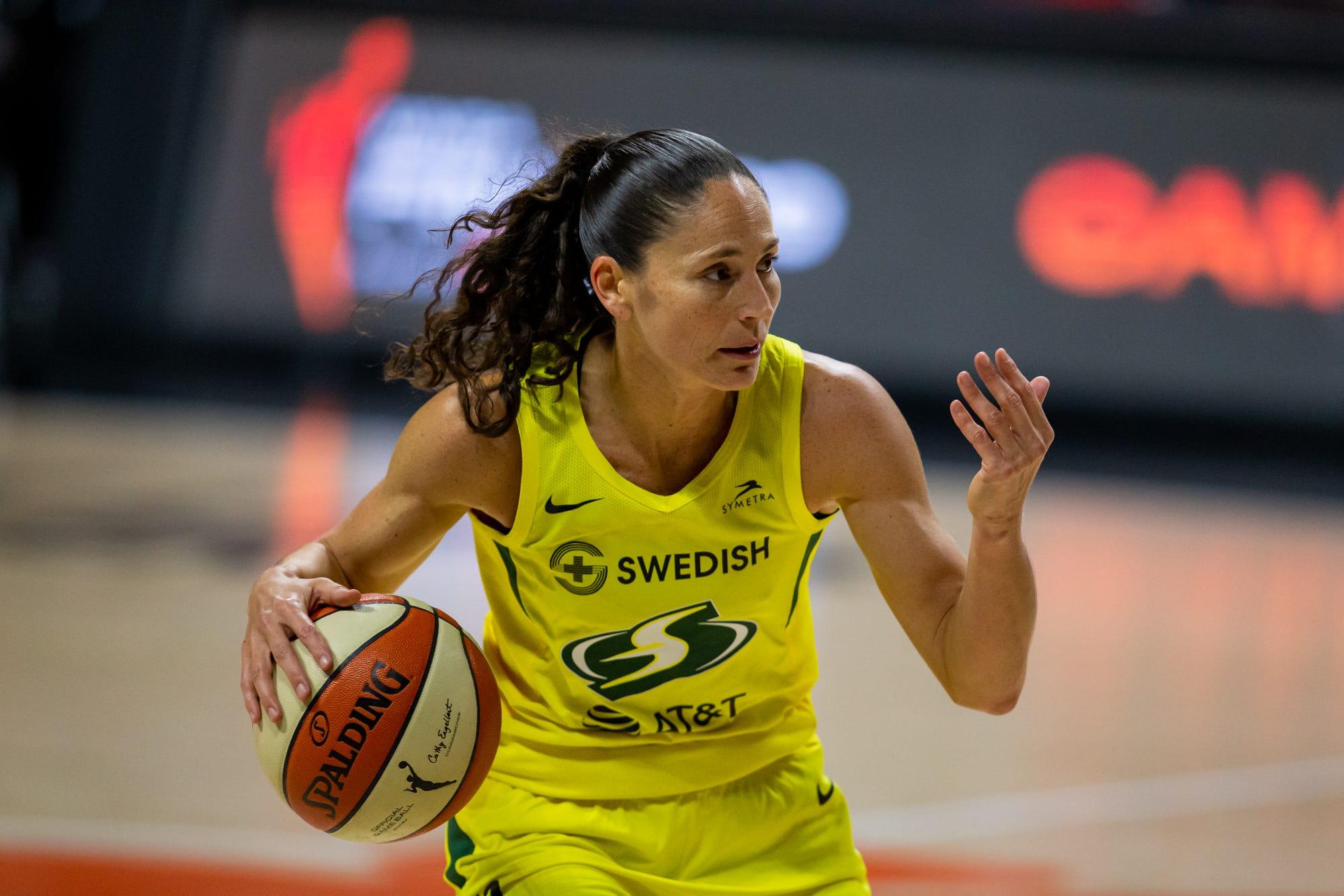 WNBA star Sue Bird says perception of 'cute white girls' helps U.S. women's soccer