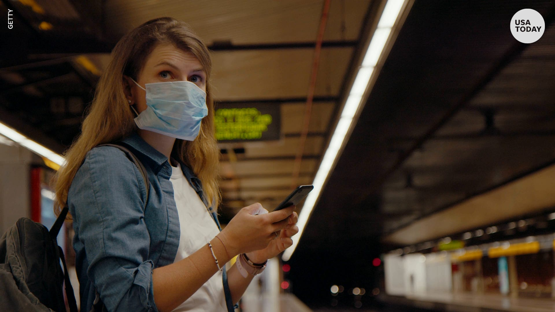 CDC issues new guidance, advises travelers on public transportation to wear a mask
